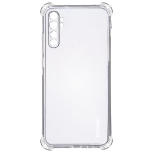Чехол TPU GETMAN Ease с усиленными углами для Xiaomi Mi Note 10 Lite – Clear