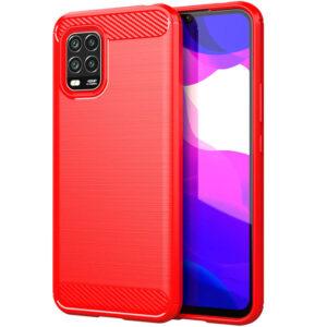 Cиликоновый TPU чехол Slim Series для Xiaomi Mi 10 Lite – Красный