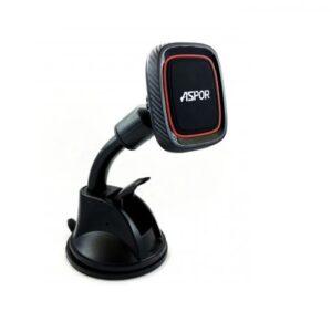 Автомобильный держатель Aspor Car Mount Magnetic – Black / Red