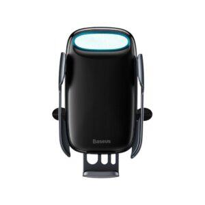 Автомобильный держатель Wireless Charger Baseus Milky Way Electric Bracket 15W – Black