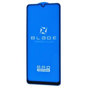 Защитное стекло 3D (5D) Blade Glass Full Glue на весь экран для Samsung Galaxy A21 / A21s – Black