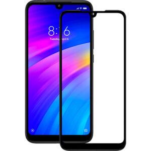 Защитное стекло 19D Full Glue Cover Glass на весь экран для Xiaomi Redmi 7 – Black