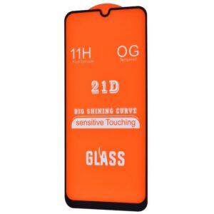 Защитное стекло 21D Full Glue Cover Glass на весь экран для Samsung Galaxy A30 / A30s / A50 / M21 / M30s / M31 – Black