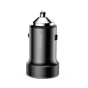 Автомобильное зарядное устройство Joyroom C-A01 (2 USB / 2.4A) – Черный