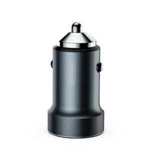 Автомобильное зарядное устройство Joyroom C-A02 (2 USB / 3.4A) – Темно-серый
