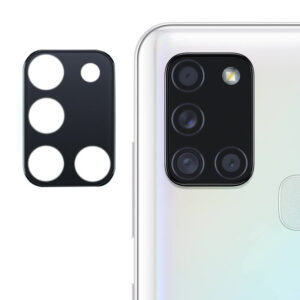 Гибкое защитное стекло 0.18mm на камеру для Samsung Galaxy A21s – Black