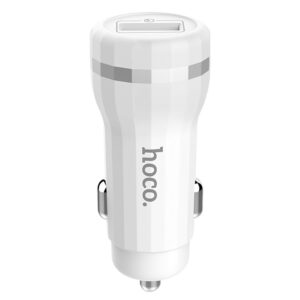 Автомобильное зарядное устройство HOCO Z27A Staunch Quick Charge 3.0 (1USB / 3A) – White