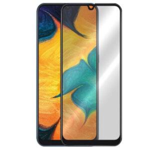 Защитное стекло Анти-шпион Privacy 5D Full Glue для Samsung Galaxy A20 / A30 / A30s / A50 / M30 / M30s / M31 / M21 – Black