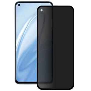 Защитное стекло Анти-шпион Privacy 5D Full Glue для Xiaomi Redmi Note 9 / Redmi 10X – Black
