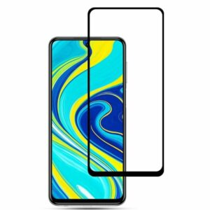 Защитное стекло 3D (5D) Full Glue Armor Glass на весь экран для Xiaomi Redmi Note 9 – Black