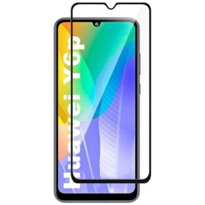 Защитное стекло 3D (5D) Full Glue Armor Glass на весь экран для Huawei Y6P – Black