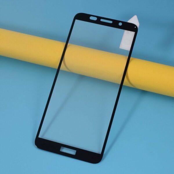 Защитное стекло 3D (5D) Full Glue Armor Glass на весь экран для Huawei Y5P – Black