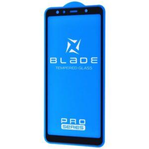 Защитное стекло 3D (5D) Blade Glass Full Glue на весь экран для Samsung Galaxy A7 2018 A750 – Black