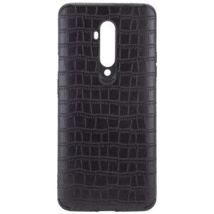 Кожаный чехол Epic Vivi Crocodile series для OnePlus 7T Pro – Черный