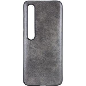 Кожаный чехол Lava для Xiaomi Mi 10 / Mi 10 Pro – Серый