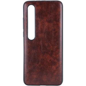 Кожаный чехол Lava для Xiaomi Mi 10 / Mi 10 Pro – Темно-коричневый