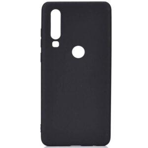 Матовый силиконовый TPU чехол для Samsung Galaxy A20s 2019 (A207) – Черный