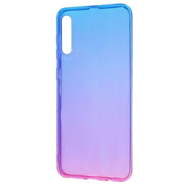 Чехол TPU Gradient Design для Samsung Galaxy A50 / A30s – Blue / pink