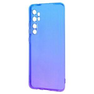 Чехол TPU Gradient Design Xiaomi Mi Note 10 Lite – Blue / purple