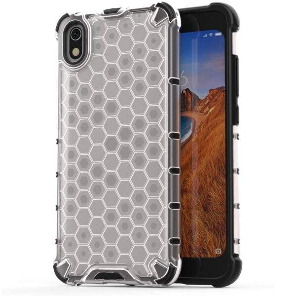 Ударопрочный чехол Honeycomb для Xiaomi Redmi 7A – Прозрачный
