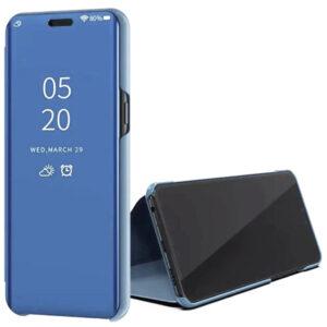 Чехол-книжка Clear View Standing Cover для Huawei P40 Lite E / Y7P (2020) – Синий