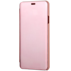 Чехол-книжка Clear View Standing Cover для Huawei Y6P / Honor 9A – Rose Gold