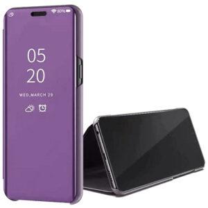 Чехол-книжка Clear View Standing Cover для Xiaomi Redmi K30 Pro / Poco F2 Pro – Фиолетовый