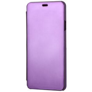Чехол-книжка Clear View Standing Cover для Huawei Y6P / Honor 9A – Фиолетовый