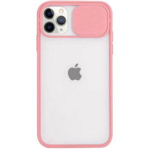 Чехол Camshield mate TPU со шторкой для камеры для Iphone 11 Pro – Розовый