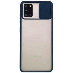 Чехол Camshield mate TPU со шторкой для камеры для Samsung Galaxy A31 – Синий