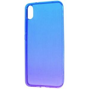 Чехол TPU Gradient Design Xiaomi Redmi 9A – Blue / purple