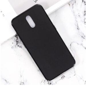 Матовый силиконовый TPU чехол для Nokia 2.3 – Black