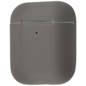 Чехол для наушников Silicone Case Slim для Apple Airpods 2 – Gray