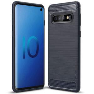 Силиконовый чехол Ipaky Slim Series для Samsung Galaxy S10 Plus (G975) – Синий