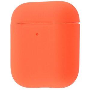 Чехол для наушников Silicone Case Slim для Apple Airpods 2 – Nectarine