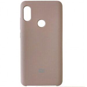 Оригинальный чехол Silicone Case с микрофиброй для Xiaomi Redmi Note 5 / 5 Pro – Lavander