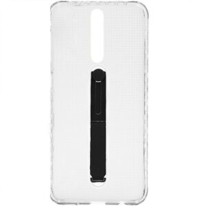 TPU чехол Protect Slim с подставкой-держателем для Xiaomi Redmi K20 / K20 Pro / Mi 9T / Mi 9T Pro – Прозрачный