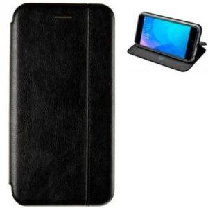 Кожаный чехол-книжка Leather Gelius для Huawei P Smart Z – Black