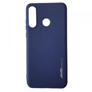 Матовый силиконовый TPU чехол для Huawei P30 Lite – Blue