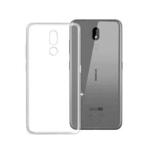 Прозрачный силиконовый TPU чехол для Nokia 3.2