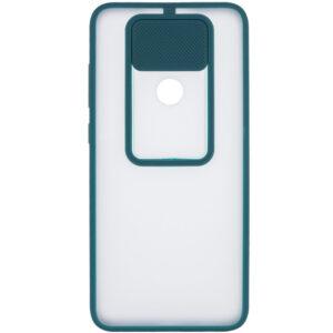 Чехол Camshield mate TPU со шторкой для камеры для Xiaomi Redmi Note 9 / Redmi 10X – Зеленый