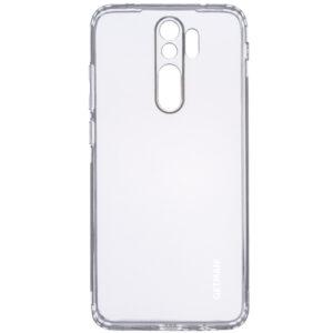 Прозрачный силиконовый TPU чехол GETMAN для Xiaomi Redmi Note 8 Pro