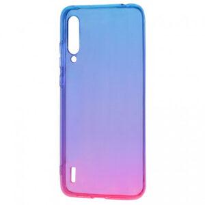 Чехол TPU Gradient Design для Xiaomi Mi 9 Lite / Mi CC9 – Blue / pink