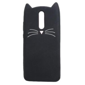 Силиконовый чехол 3D Cat для Huawei Mate 10 Lite – Black