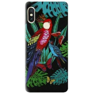Силиконовый чехол Inavi Gallery Xiaomi Redmi Note 5 / 5 Pro – Caribbean Parrot
