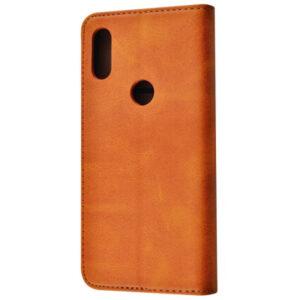 Чехол-книжка Black TPU Magnet для Xiaomi Mi Play – Brown