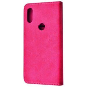 Чехол-книжка Black TPU Magnet для Xiaomi Mi Play – Pink