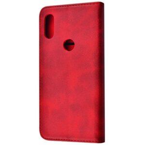Чехол-книжка Black TPU Magnet для Xiaomi Mi Play – Red
