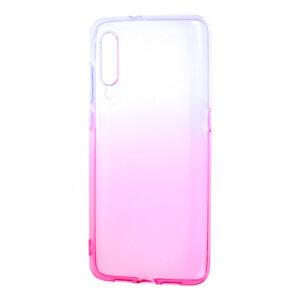 Чехол TPU Gradient Design для Xiaomi Mi 9 – White / pink