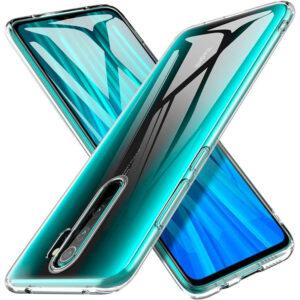 Прозрачный силиконовый TPU чехол для Xiaomi Redmi 9